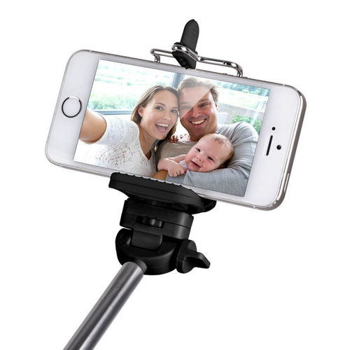 Laser Bluetooth Selfie Stick & Extendable Mobile Phone Holder
